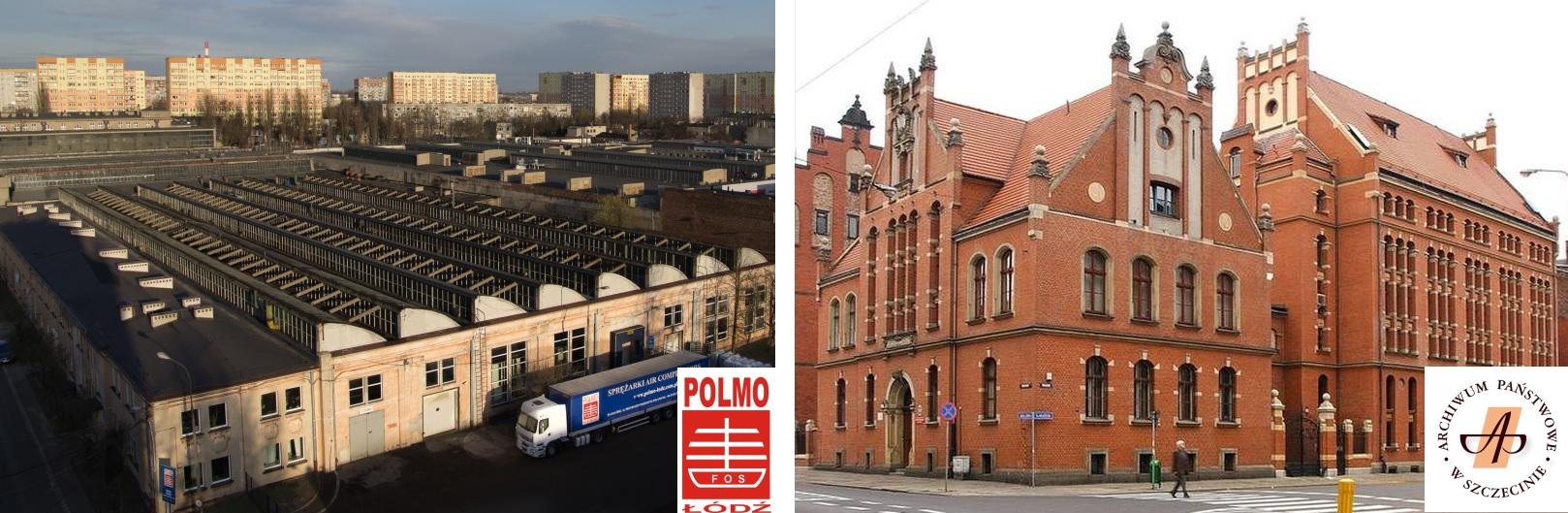 Read more about the article Z wizytą w FOS Polmo w Łodzi i Archiwum Państwowym w Szczecinie