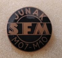 Przypinka Junak SFM M07-M10 Z.Młotek