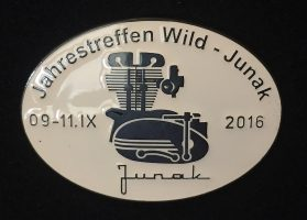 Przypinka Wild Junak 2016 RL