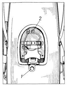 Rys P-22 Zdejmowanie tylnej lampki