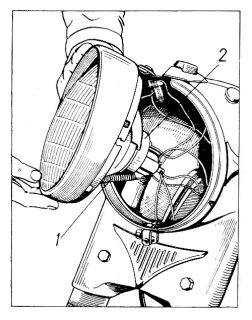 Rys P-9 Wyjmowanie elementu optycznego