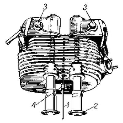 Rys S-23 Głowica zdjęta z silnika
