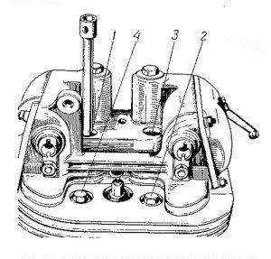 Rys S-3 Odkręcanie nakrętek mocujących głowicę