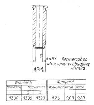 Rys S-53 Prowadnik popychacza