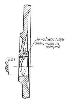 Rys S-55 Pokrywa rozrządu