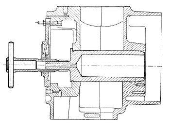 Rys S-58 Rozwiercanie otworu w tulejce wału korbowego