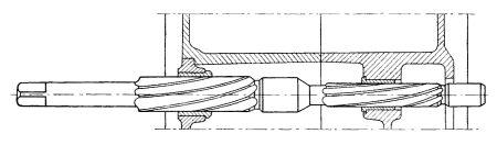 Rys S-60 Rozwiercanie tulejek wałka przesuwek
