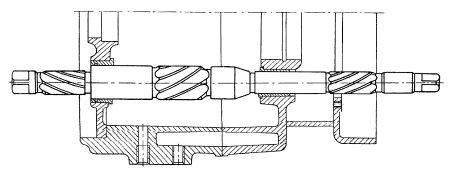Rys S-63 Położenie rozwiertaka do założenia pokrywy lewej