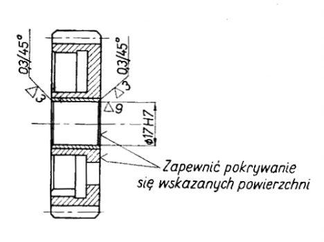Rys S-73 Koło zębate rozruchowe kompletne
