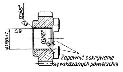 Rys S-74 Koło zębate II biegu z tulejką kompletne