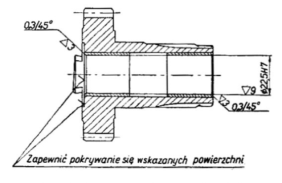 Rys S-76 Koło zębate z wałkiem wyjściowym kompletne