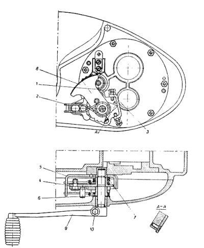Rys S-77b Zmieniacz biegów