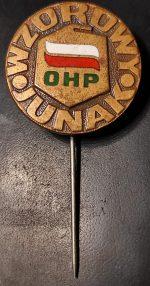 Wpinka OHP Wzorowy Junak F. Joppek
